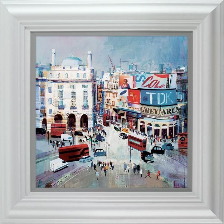 Bigger-dilly by Tom Butler - Hand Finished Limited Edition on Paper sized 16x16 inches. Available from Whitewall Galleries